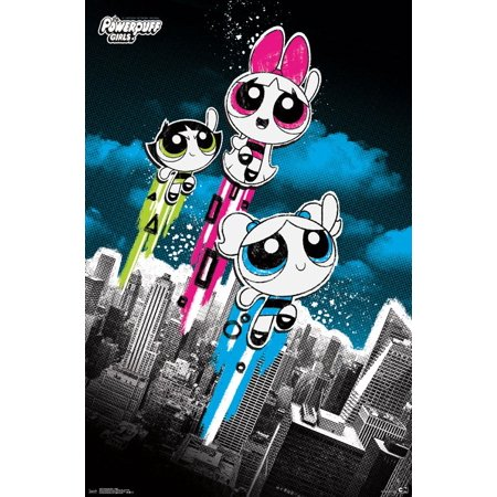 Powerpuff Girls - Flight Poster Print](Him Powerpuff Girls)