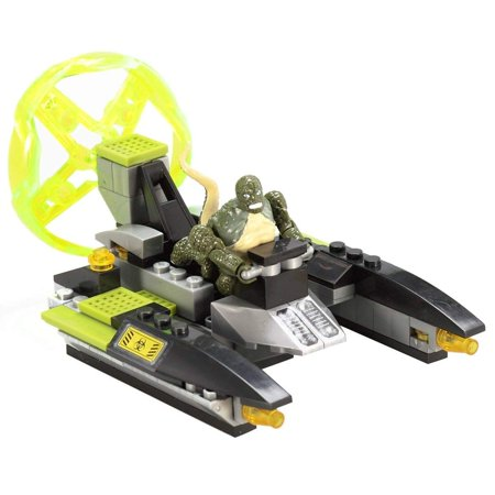 Mega Bloks Amazing Spiderman Lizard Sewer Speeder Building Set 91338 Spider Man