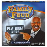 Steve Harvey Family Feud, Platinum Edition Family Party Game, Kids and Adults