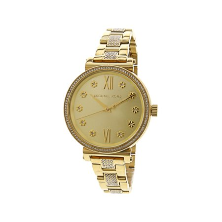 Michael Kors Women's Sofie Watch - Gold / Gold / Gold - image 1 of 3