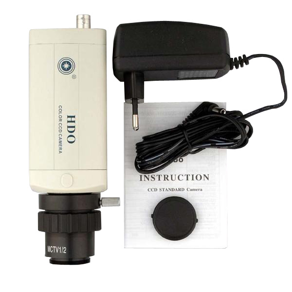 AmScope Low Lux HD CCD Microscope Video Camera for TV