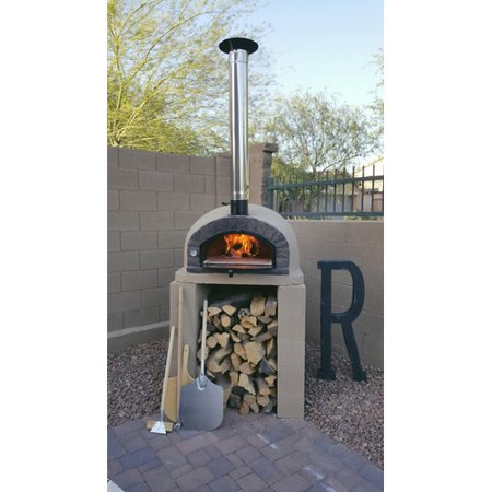 Authentic Pizza Ovens Traditional Brick Braza Wood Fire Pizza (Wood Fired Pizza)