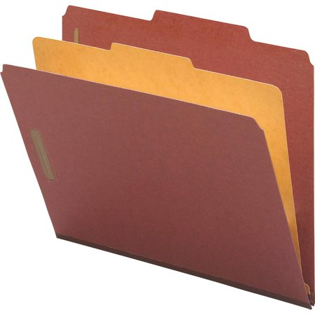 Nature Saver Kraft Divider Recycled Classification Folders - Letter - 8 1/2