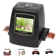 Best Slide Scanners - DIGITNOW Film Scanners with 22MP Converts 126 KPK/135/110/Super Review