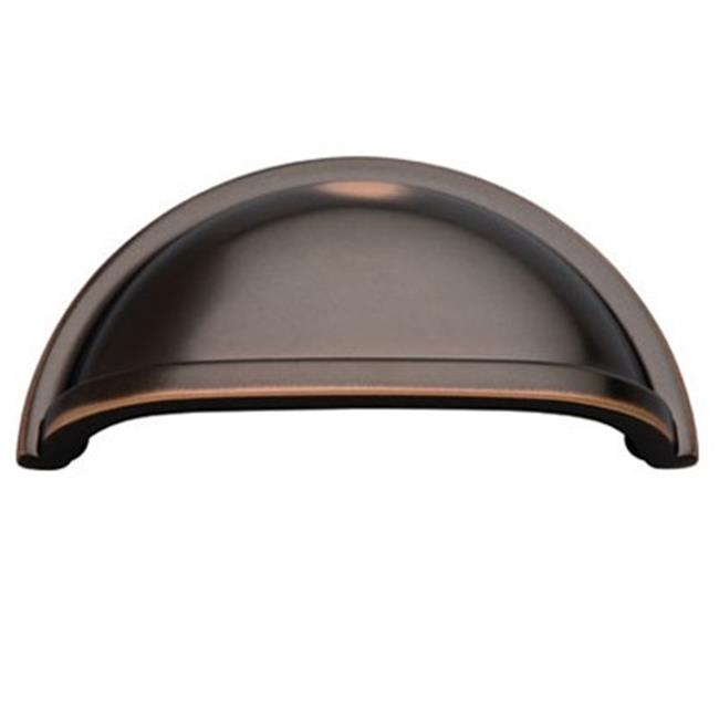 Belwith Bwk43 Obh 3 inch On Center Cup Pull - Oil Rubbed Bronze
