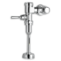 American Standard Manual Urinal Flush Valve 1.0 GPF in Polished Chrome