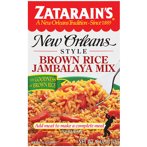 Zatarain's Brown Rice New Orleans Style Jambalaya Mix, 6 oz