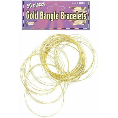 Halloween Bangles Set Of 50 Gold