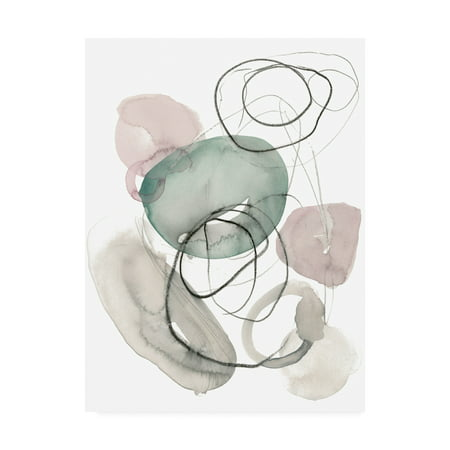 Sea Glass Stack (Trademark Fine Art 'Sea Glass Stack I' Canvas Art by Jennifer Paxton)