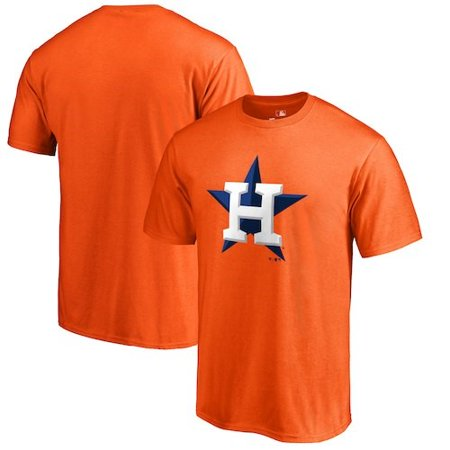 Houston Astros Primary Logo T-Shirt - Orange](Adult Store Houston)