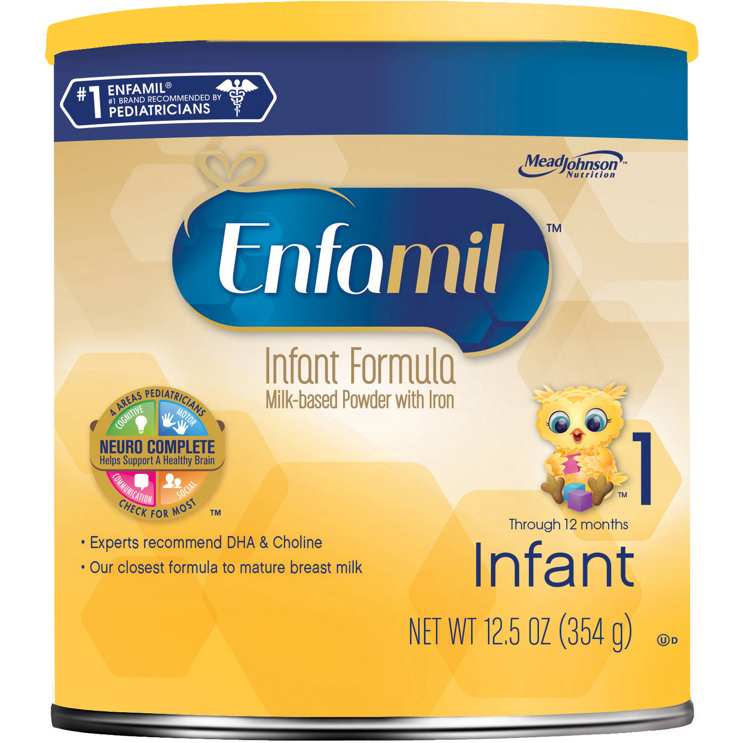 Enfamil Infant baby formula - 12.5 oz Powder Can