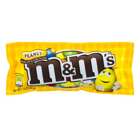 M&Ms Peanut Butter Chocolate Candies - 1.74oz