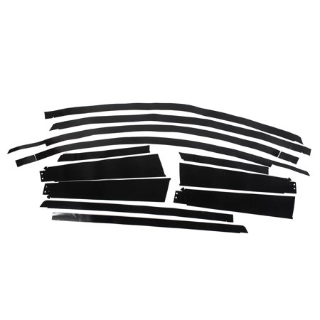 auto door panel black self adhesive out tape 10 in 1 for nissan tiida 2011. Black Bedroom Furniture Sets. Home Design Ideas