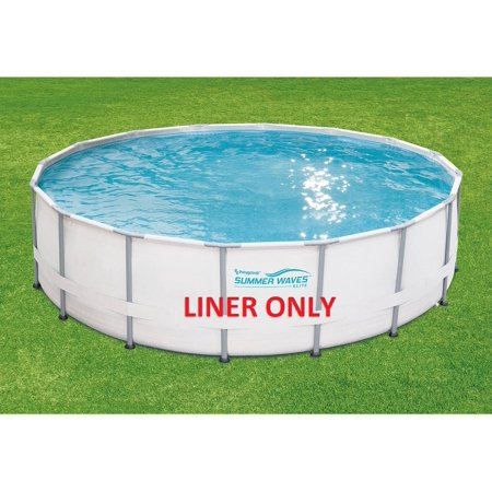 Incredible Replacement 14 X 42 Summer Waves Elite Frame Round Pool Liner Only Uwap Interior Chair Design Uwaporg
