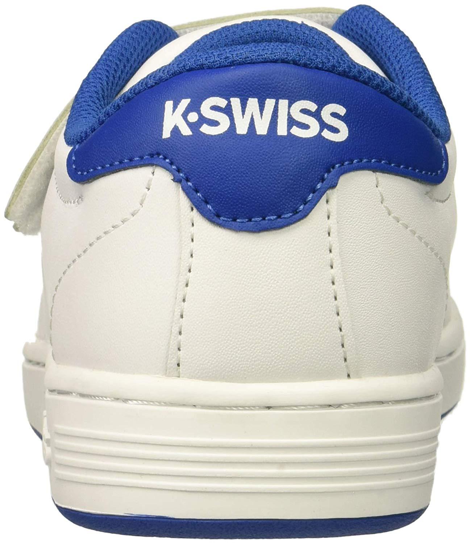 K-Swiss Kids Clean Court 3-Strap Sneaker