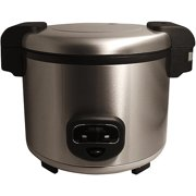 Aroma 60-Cup Cool Touch Commercial Rice Cooker, Stainless Steel by Mirama Enterprises, Inc.