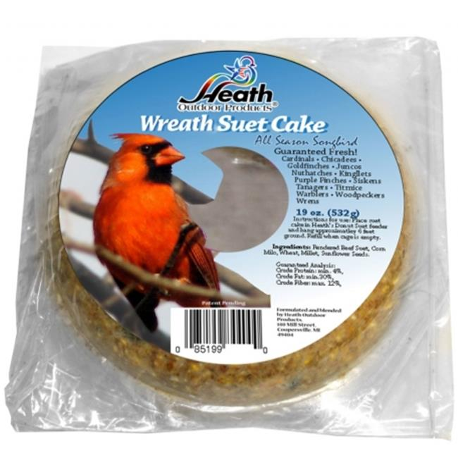 Heath HEATHDD6 18oz.  Donut Suet Cake