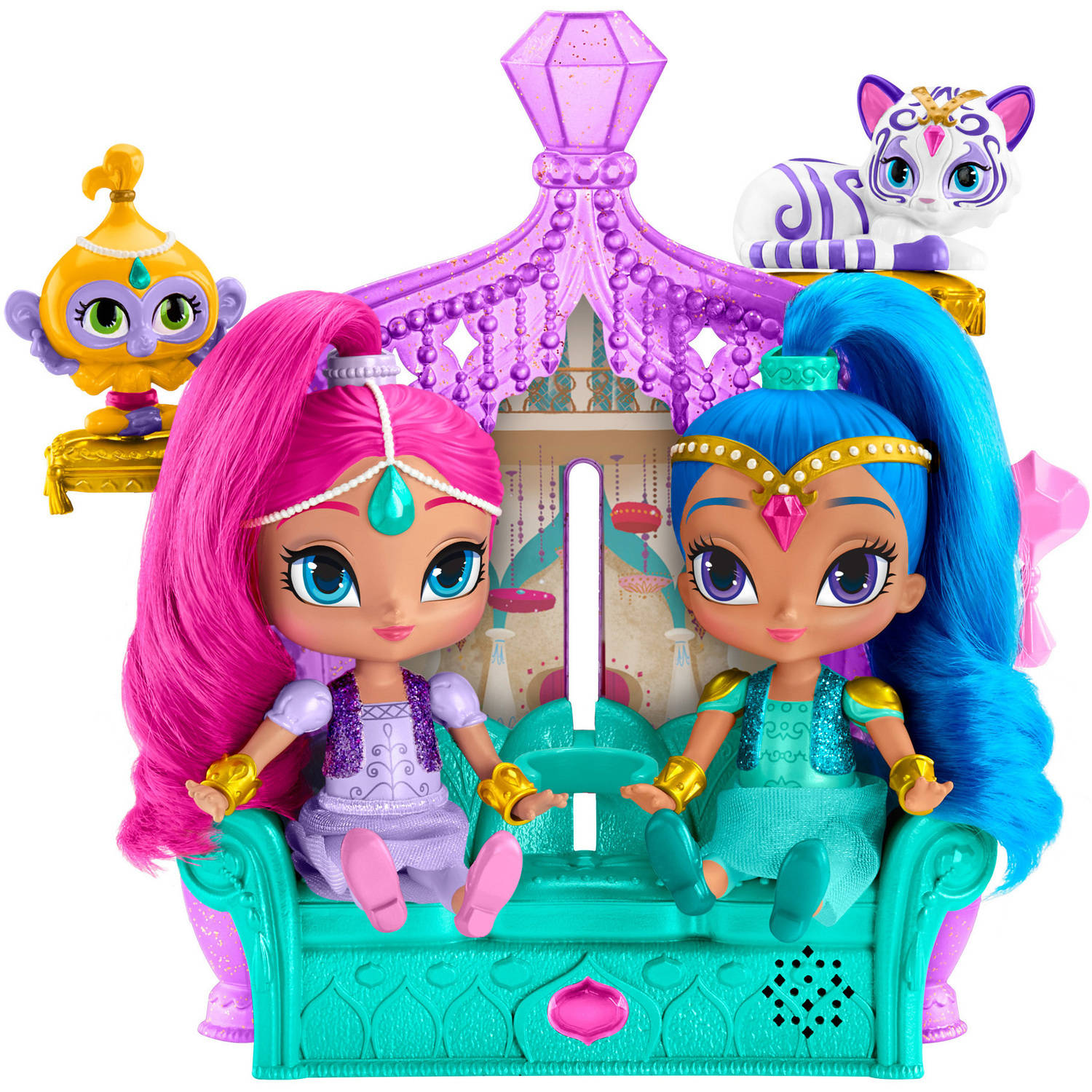 Fisher Price Shimmer and Shine Float and Sing Palace Friends