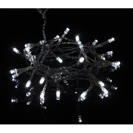 Fantado 30 LED White Mini String Lights, 10.8 FT Clear Cord, Battery Operated by PaperLanternStore