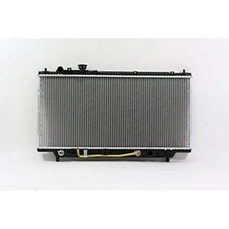 94 Mazda Protege Radiator - Radiator - Pacific Best Inc For/Fit 1704 95-98 Mazda 323 Protege Automatic Transmission L4 1.5/1.8L Plastic Tank Aluminum Core