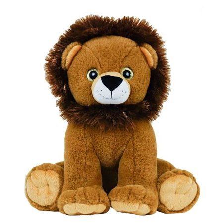 Cuddly Soft 16 inch Stuffed Happy Lion...We stuff 'em...you love 'em! (Happy Halloween Stuff)