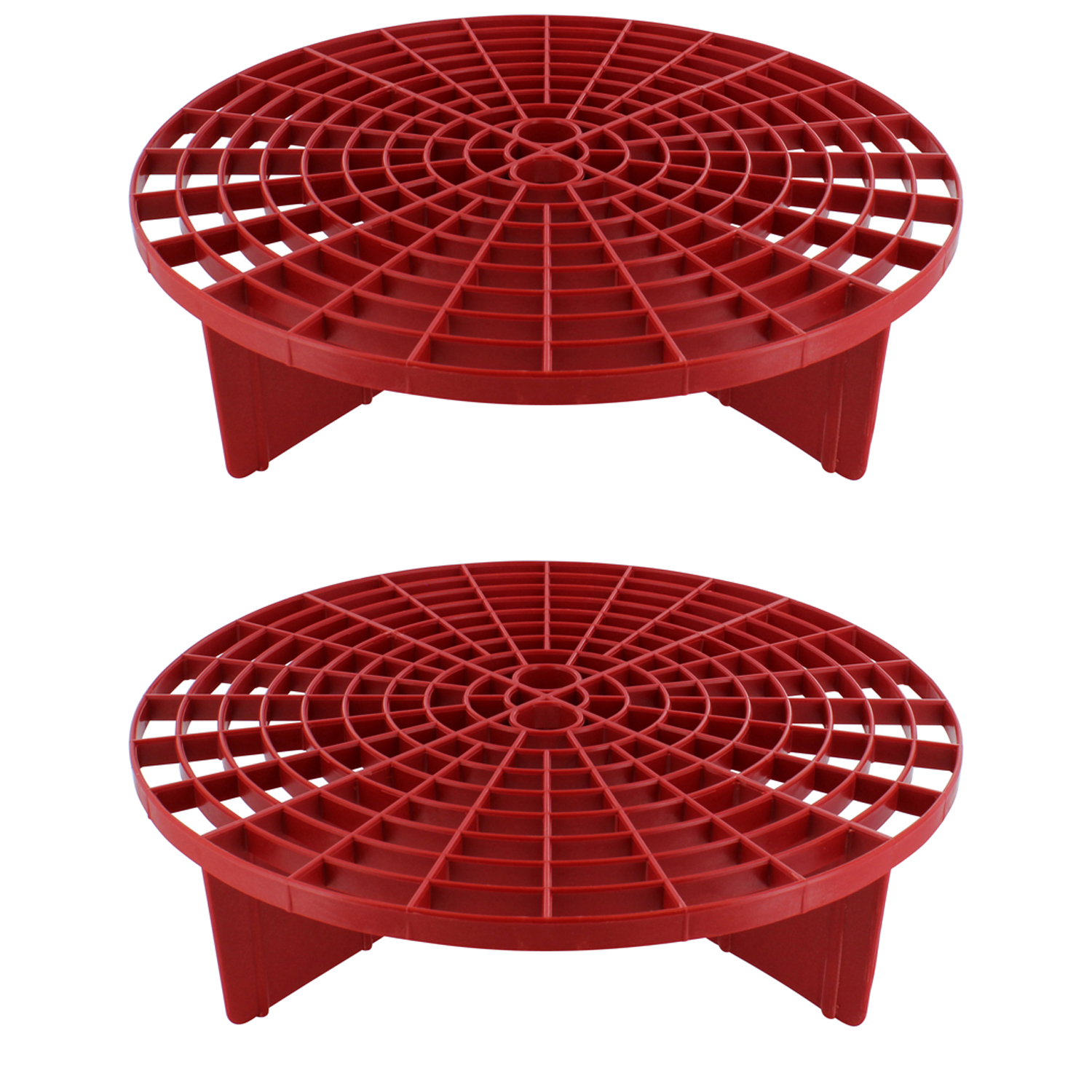The Grit Guard Insert - Red (2 Pack)