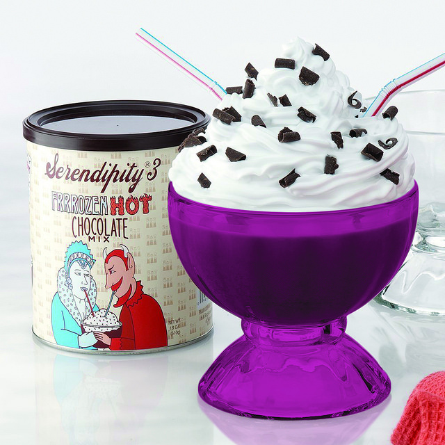 Full Pink Color Serendipity Frozen Hot Chocolate Party Gi...