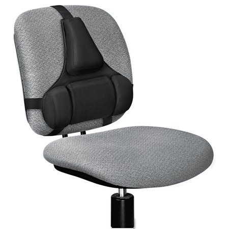 Fellowes Professional Series Back Support Memory Foam Cushion - Back support chair