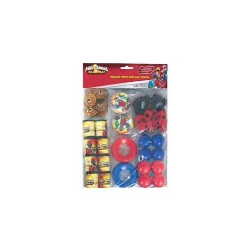 Amscan Power Rangers Samurai Party Favor Value Pack