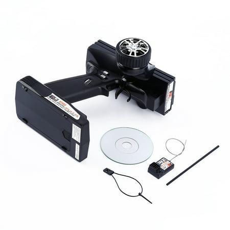 Radio Remote Control Transmitter - Flysky FS-GT3B 2.4G 3CH Transmitter + Receiver for RC Car Vehicle Radio Control