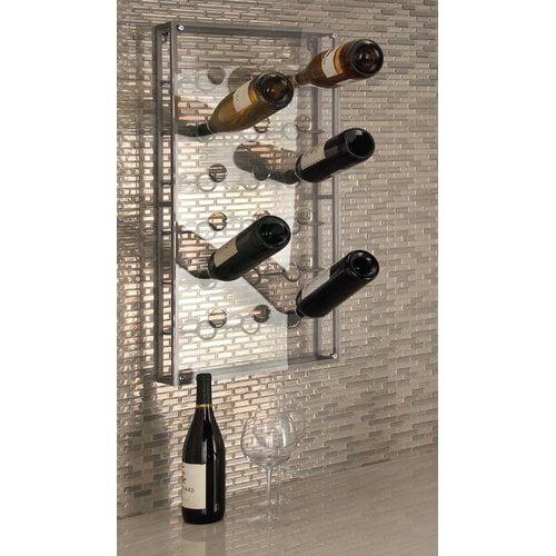 Cole & Grey 18 Bottle Wall Mounted Wine Bottle Rack