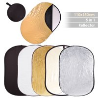 "Photography Live Stream Webcam Vedio 5in1 40""x60"" Collapsible Multi Lighting Reflector Set Photo Studio 110x150cm"