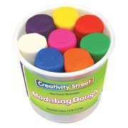 Creativity Street® Modeling Dough, 8 Assorted Colors, 3 oz Per Color