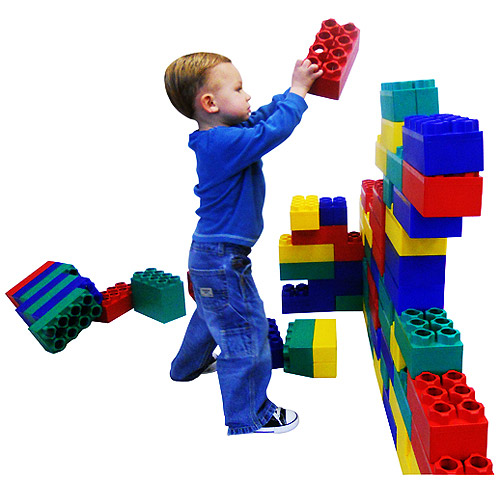 Kids Adventure Jumbo Blocks Learner Set, 48-Pieces