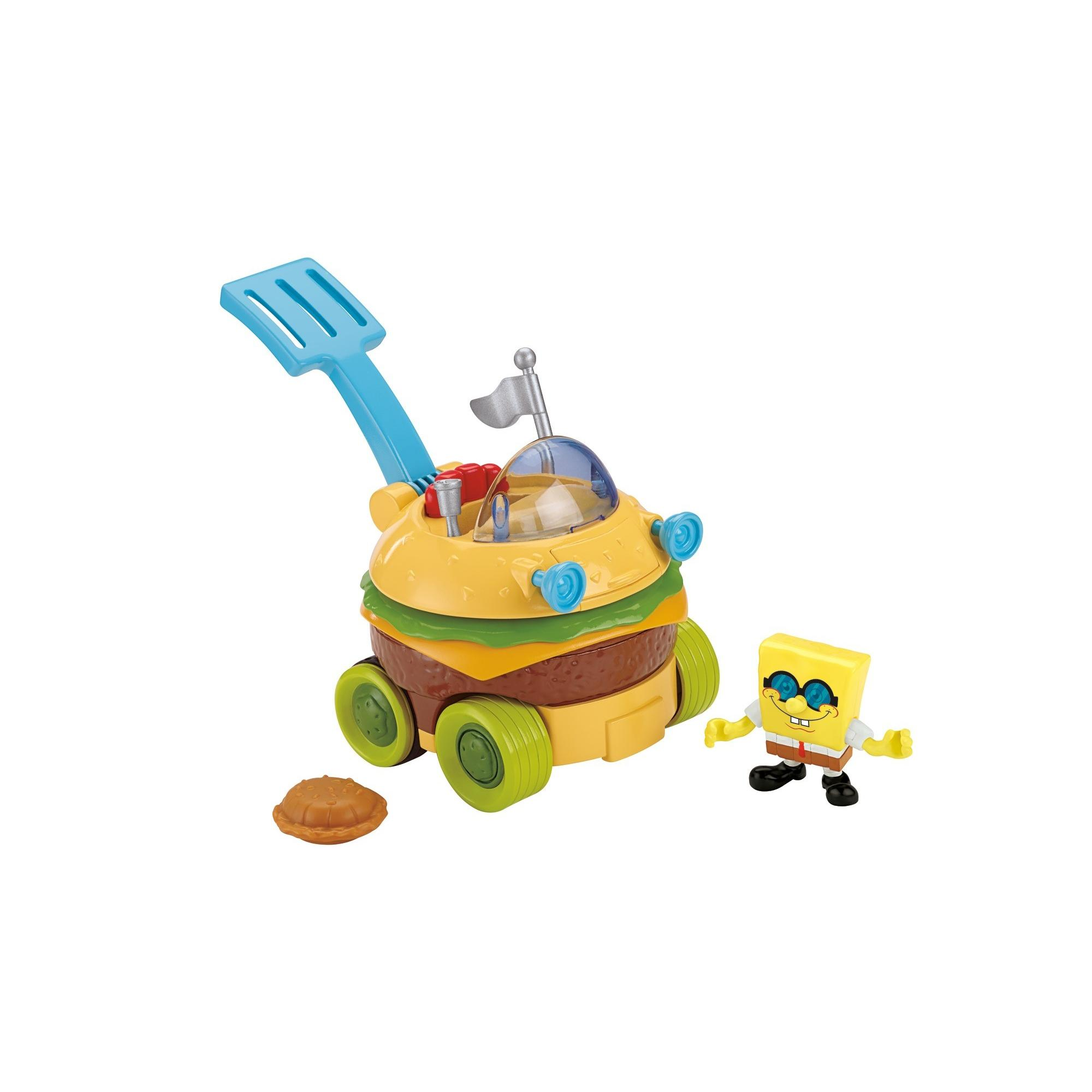 Imaginext SpongeBob SquarePants Krabby Patty Wagon - Walmart.com