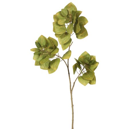 Vickerman Single Leaves Spray-Autumn Green