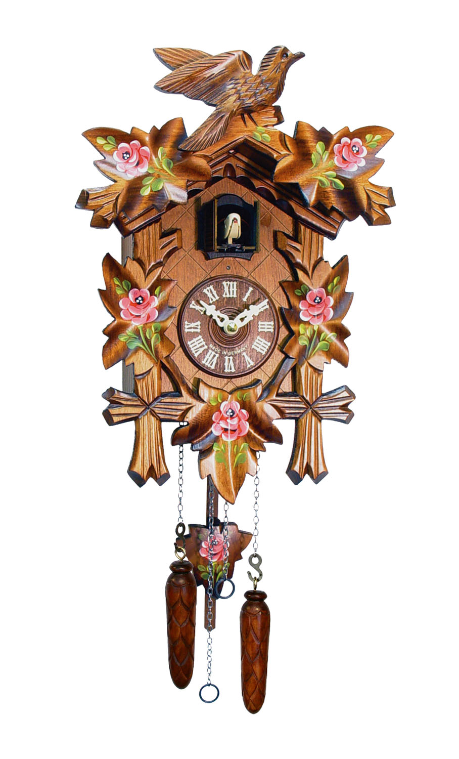 Alexander Taron 532-9Q Engstler Battery-operated Cuckoo Clock Full Size by Alexander Taron