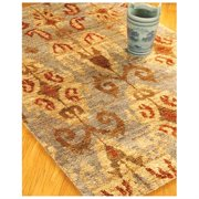 Morning Side Jute Rug, Hand Knotted by Artisan Rug Maker, 4' x 6'