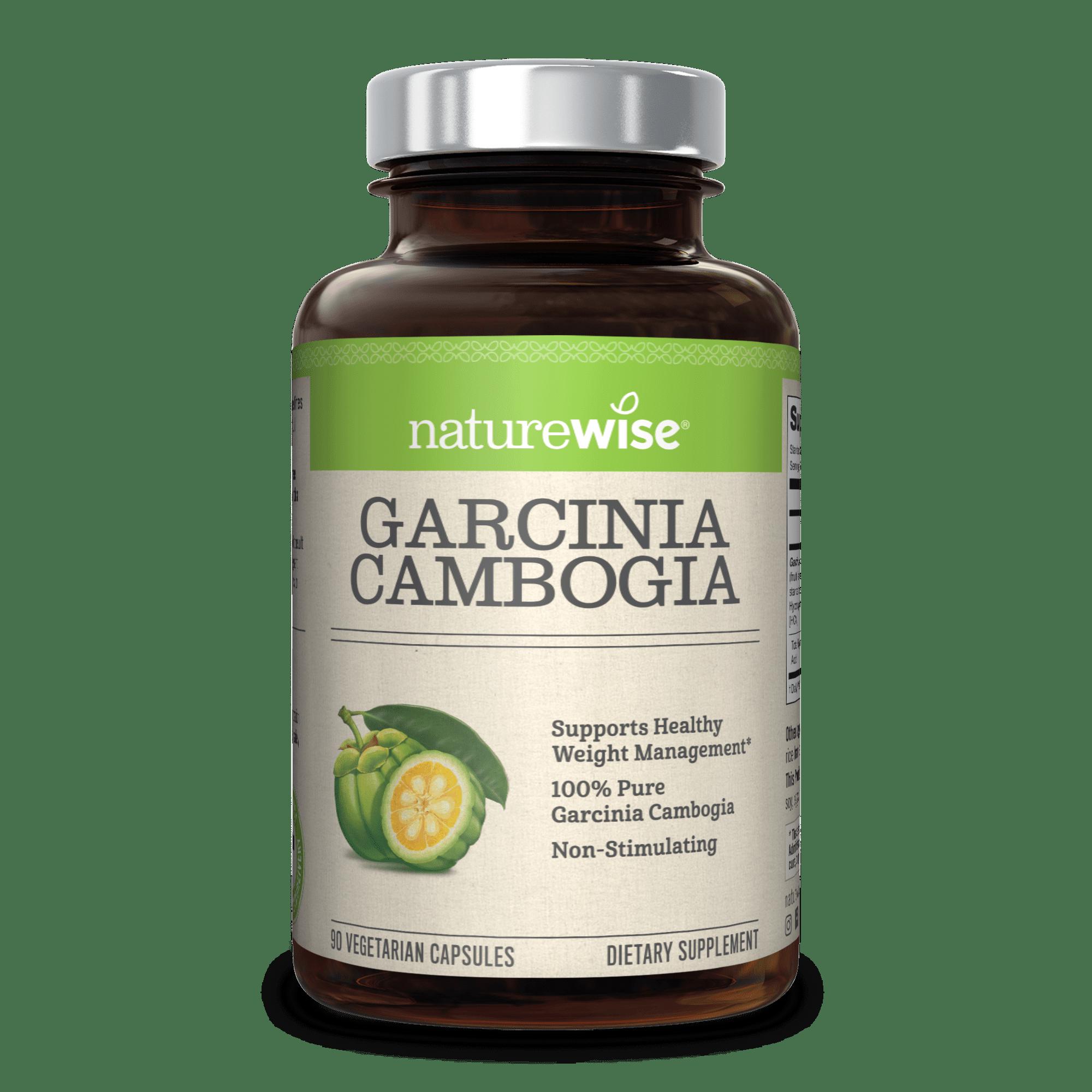 Naturewise Garcinia Cambogia 500mg Weight Loss Pills 90 Ct