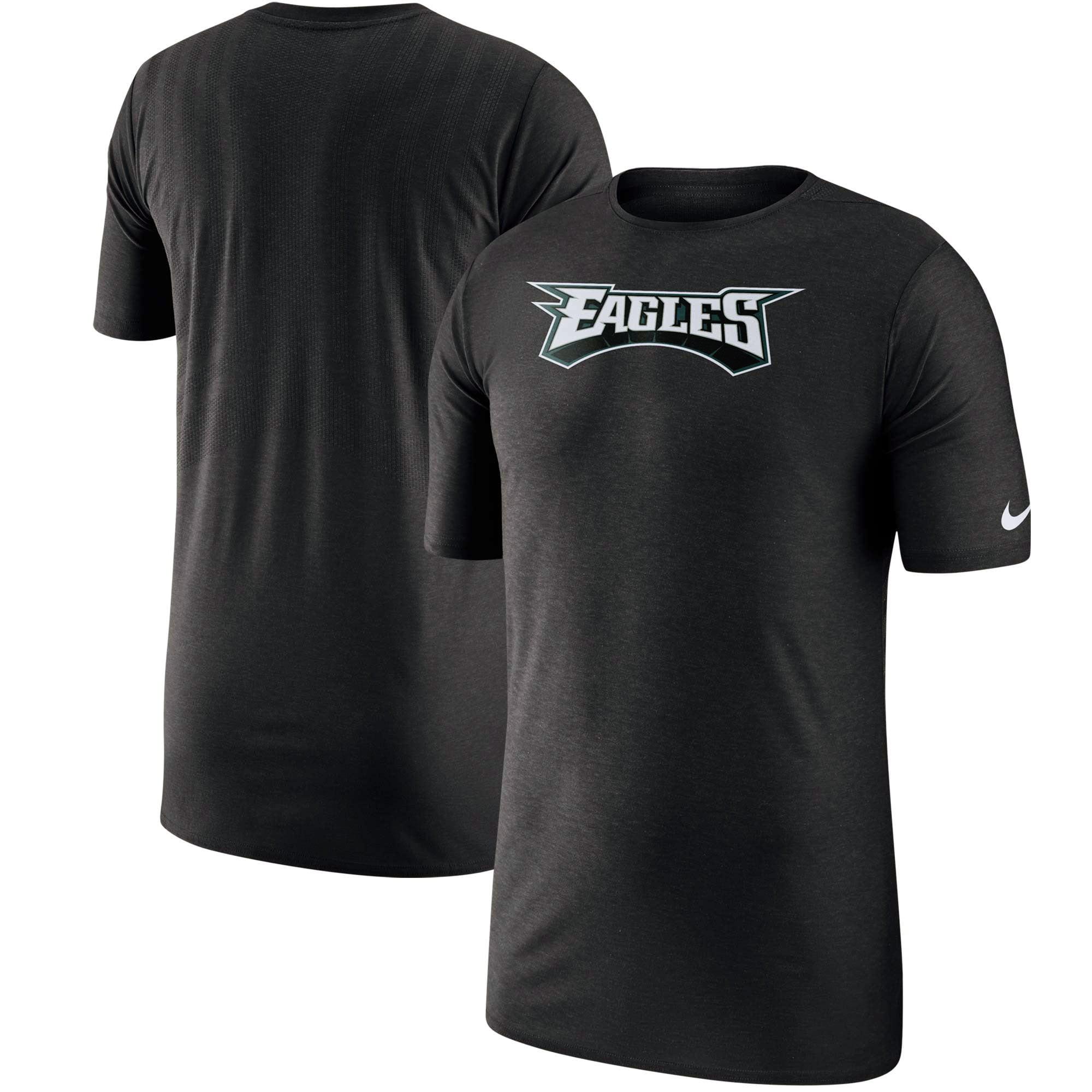 Philadelphia Eagles Nike Sideline Player T-Shirt - Black