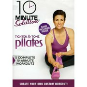 10 Ms: Tighten and Tone Pilates W Band by ANCHOR BAY HOME ENTERTAINMENT