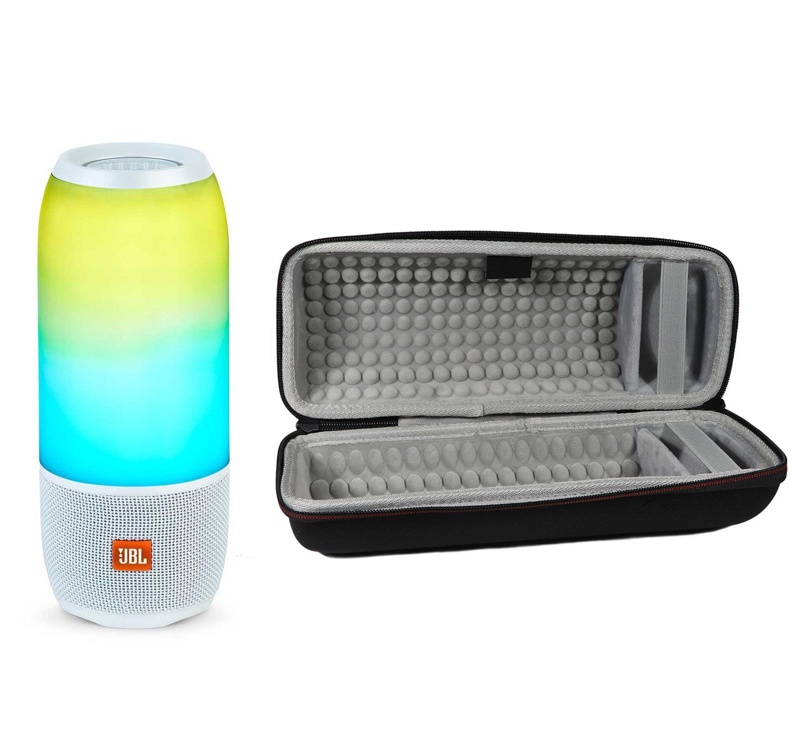 JBL Pulse 3 White Bluetooth Speaker & Hardshell Case Kit by JBL