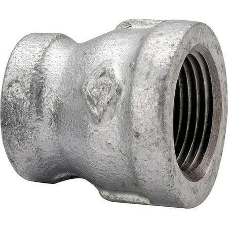 Worldwide Sourcing Pipe Reducing Coupling 1 2 X 1 4 In Threaded Galvan