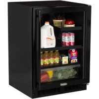 """Marvel ML24BRR 24"""" Wide 7-Bottle and 162-Can Built-In Beverage Center with LED L"""