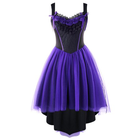 Plus Size Dresses For Women Stereo Flower Tulle Vintage Plus Size Summer  Dresses