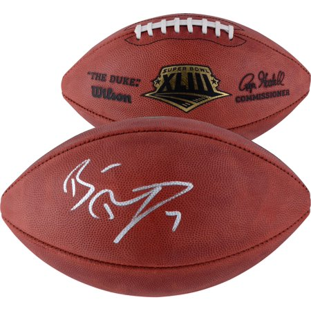 Ben Roethlisberger Pittsburgh Steelers Autographed Wilson Super Bowl XLIII Pro Football - Fanatics Authentic Certified Ben Roethlisberger Signed Football