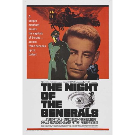 The Night of the Generals POSTER Movie B (27x40) for $<!---->