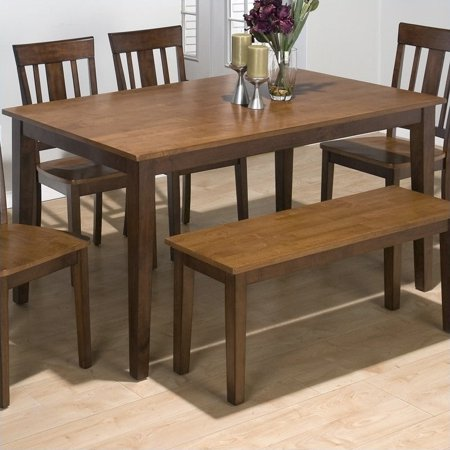 Rock Canyon Dining Furniture (Jofran Rectangle Casual Dining Table in Kura Espresso and Canyon)