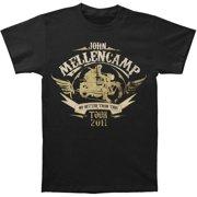 John Mellencamp Men's  Rider 2011 Tour T-shirt Black
