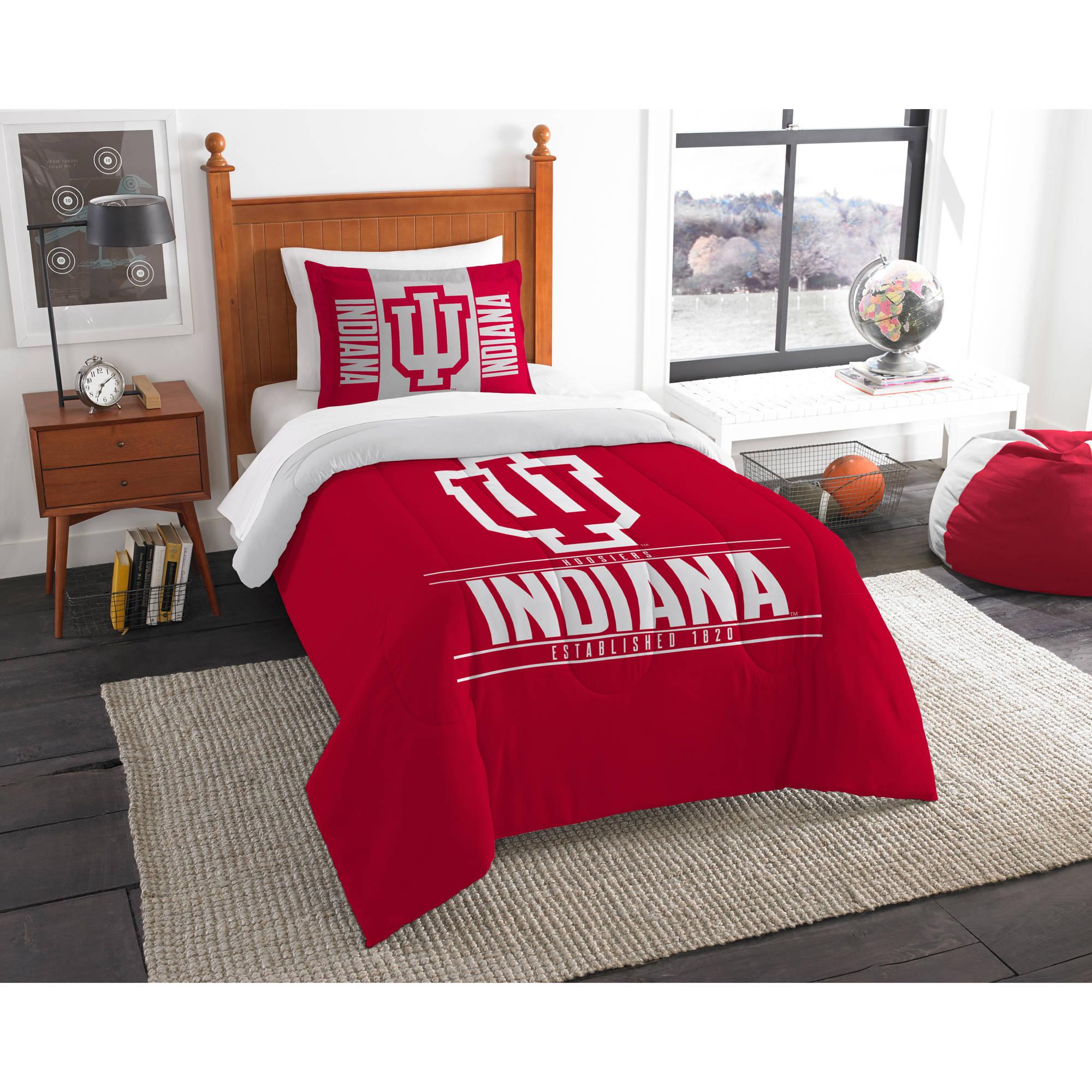 """NCAA Indiana Hoosiers """"Modern Take"""" Bedding Comforter Set"""